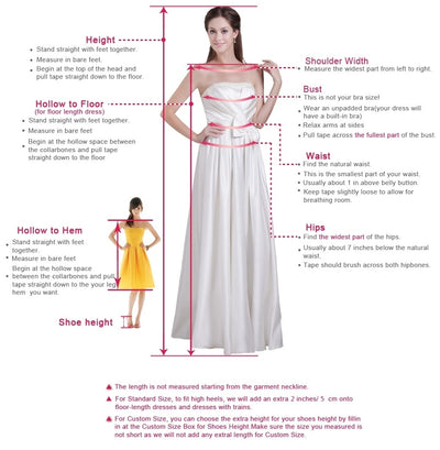 Blue Trumpet Floor Length Jewel Neck Sleeveless Sheer Back Beading Prom Dress,Party Dress P315 - Ombreprom