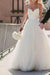 Simple Sweetheart  Sleeveless Spaghetti Straps Wedding Dresses W330