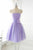 Strapless Tulle Party Dress Short Celebrity dresses Homecoming Dresses