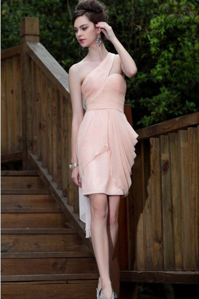 Elegant Short/Mini Sweet 16 Cocktail Dress Bridesmaid Dresses Homecoming Dress - Ombreprom