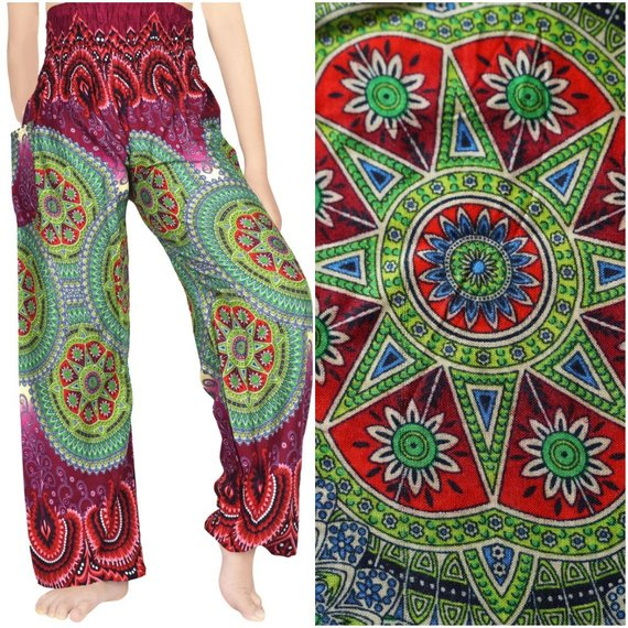 GEOMETRIC Design (Boho,Hippie,Yoga) Pants