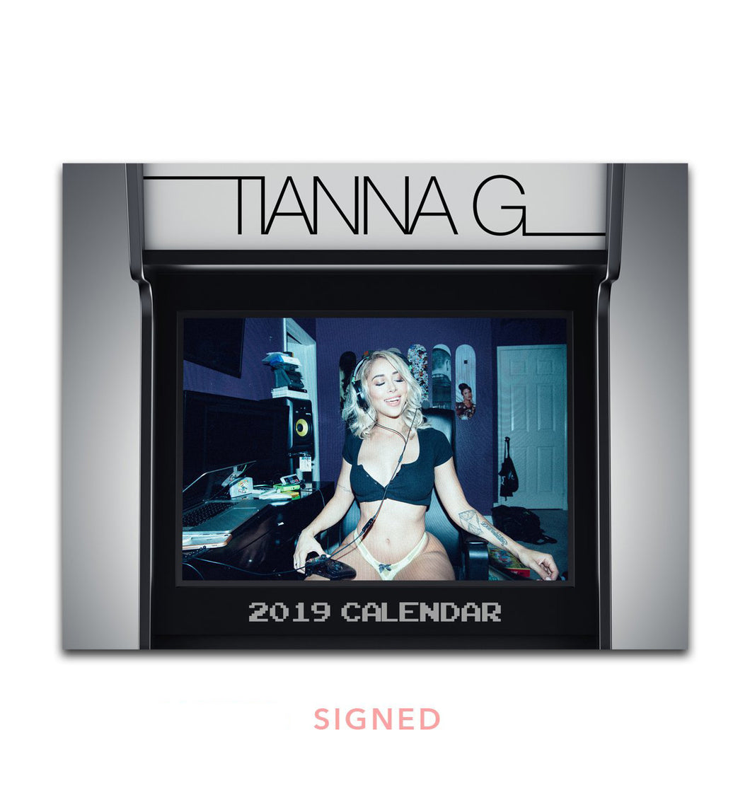 2019 Tianna Gregory Official Calendar - SIGNED