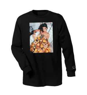Sweets Long Sleeve T-Shirt Blk
