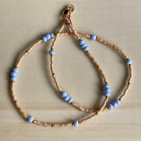 Sky Fine Bead Necklace