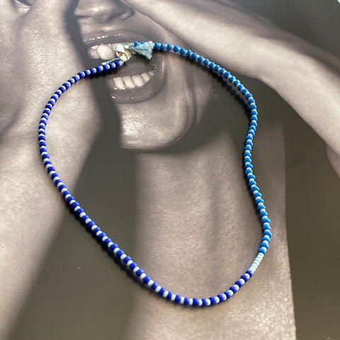 Blues Sterling Necklace