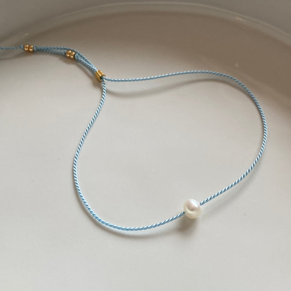 Forget Me Knots Bracelet (rice pearl) - Athena+Co - Jewellery - Jewelry - Beaded - Necklace - Bracelet - Fashion