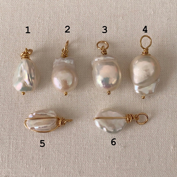 Freshwater Pearl Pendents - Athena+Co - Jewellery - Jewelry - Beaded - Necklace - Bracelet - Fashion