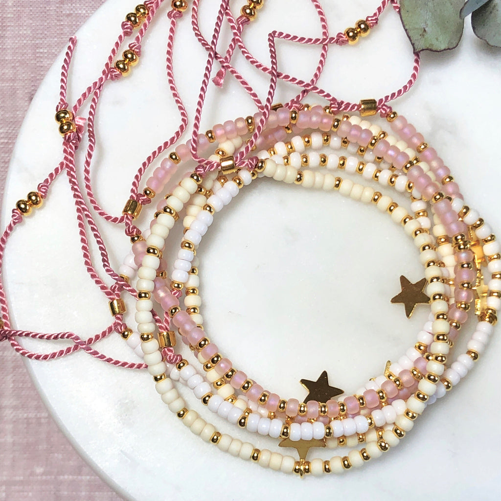 Dreamy Star Bead Bracelet - Athena+Co - Jewellery - Jewelry - Beaded - Necklace - Bracelet - Fashion