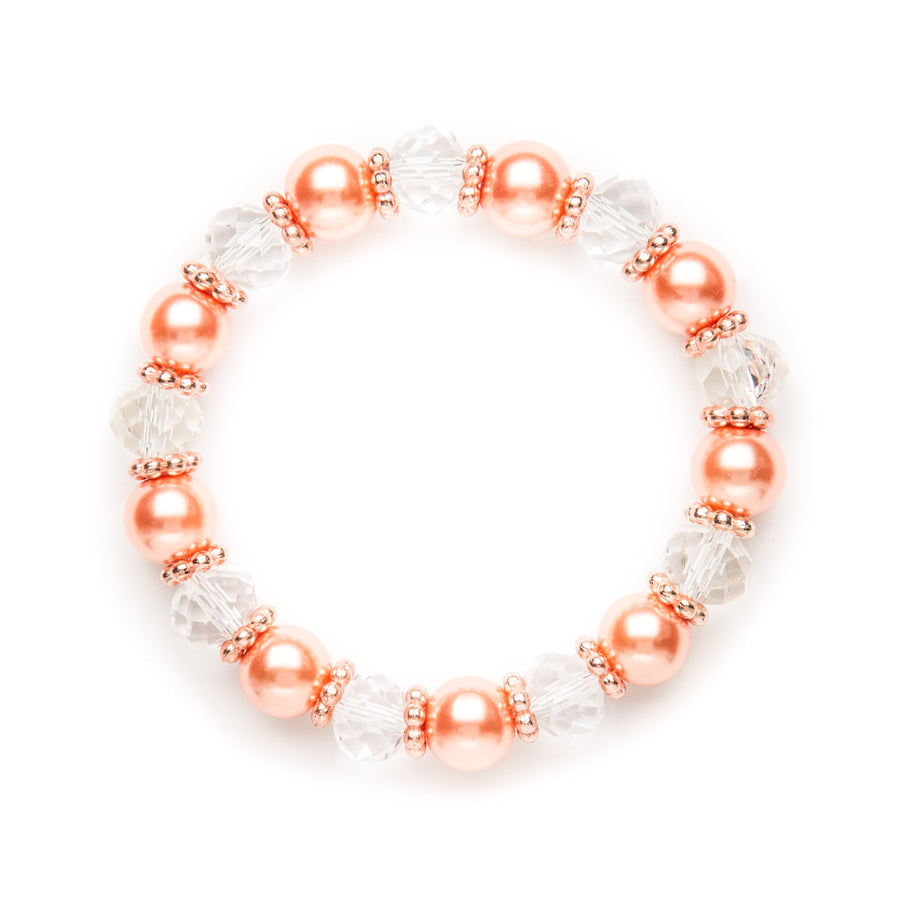 Coral beauty Stretch Bracelet