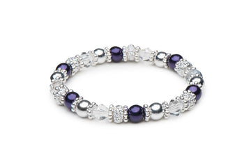 Purple Delight Stretch Bracelets