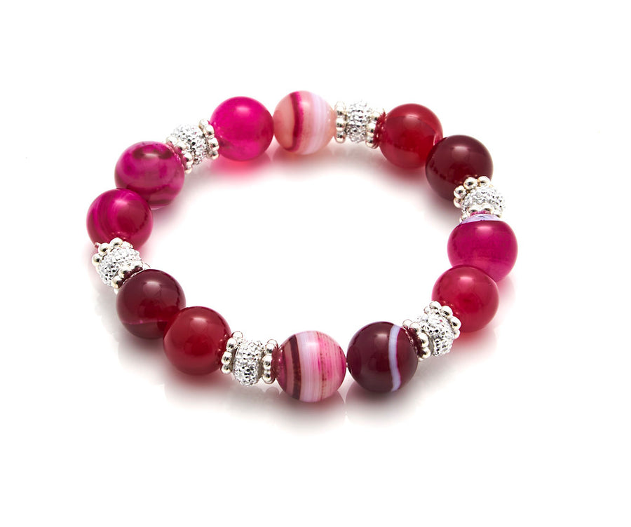 Sparkling Candy Stretch Bracelet
