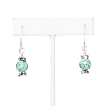 Mint Turquoise Earrings