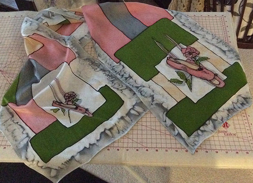 Ballet Shoes Scarf (Stacey Collection)