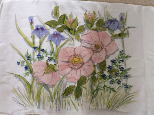 Antique Rose Pillowcase