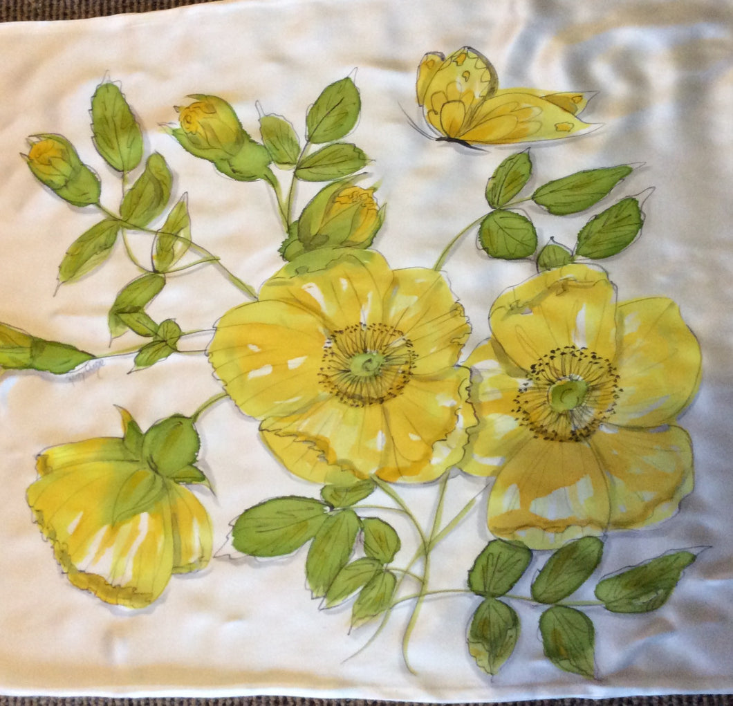 Yellow Flower Pillowcase