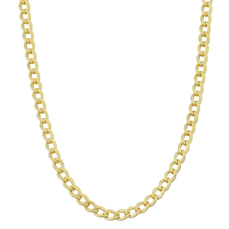 14k real gold cuban chain 18 inch