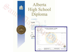 Secondary School Canada Diploma and Transcripts