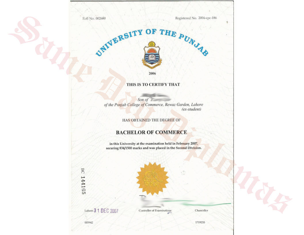 College and University Match Diplomas from India