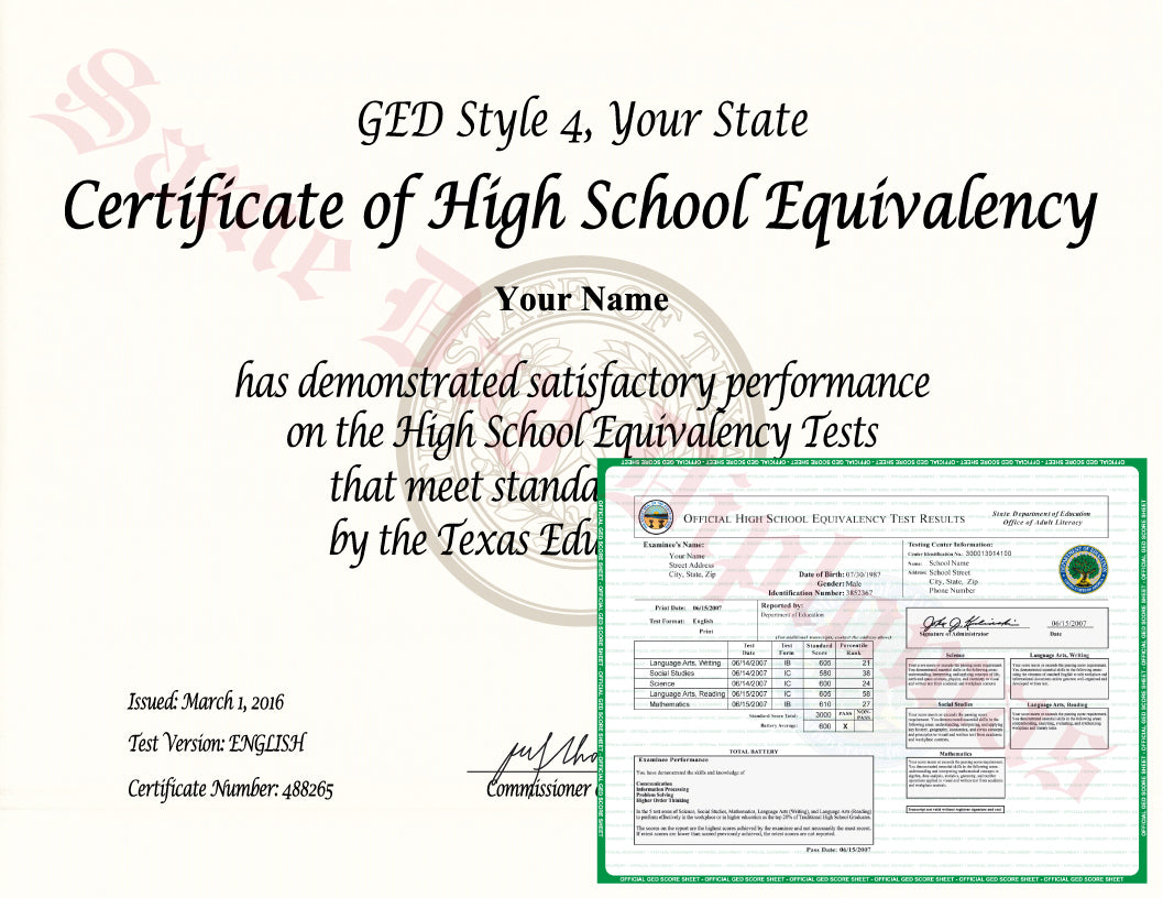 Buy Ged Diploma And Transcripts