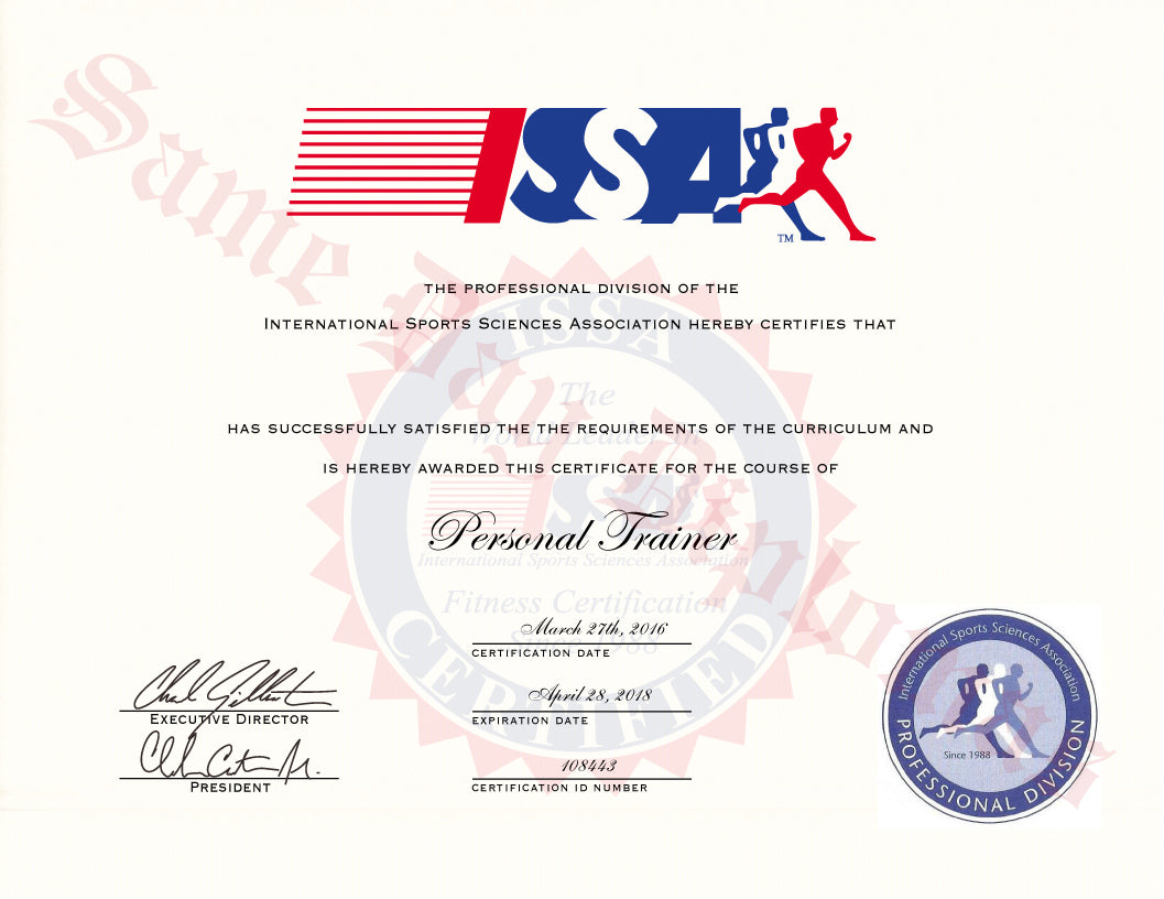 Buy Replacement Personal Trainer Certificate Same Day Diplomas
