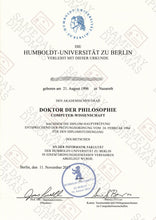 College and University Match Diploma Degrees From Germany