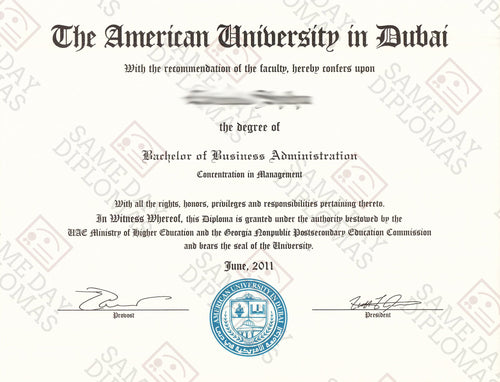 College and University Match Diploma Degree From UAE