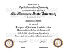 PhD Doctor of Philosophy Degree Diploma