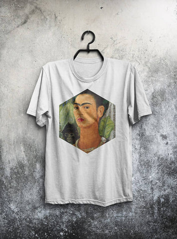 Frida Kahlo T-shirt Men Tshirt Male Fashion Shirt