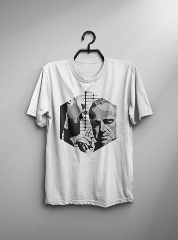 Godfather T-shirt Men Tshirt Male Fashion Shirt