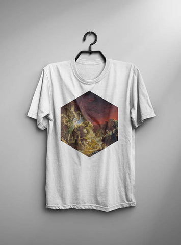 The Last Day Of Pompeii T-shirt Men Tshirt Male
