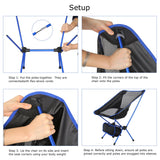 Compact Ultralight Portable Camp Chair