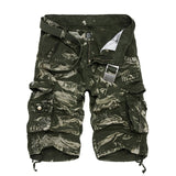 SFIT Men Cool Camouflage Summer Hot Sale Cotton Casual Men Short Pants Brand Clothing Comfortable Camo Men Cargo Shorts