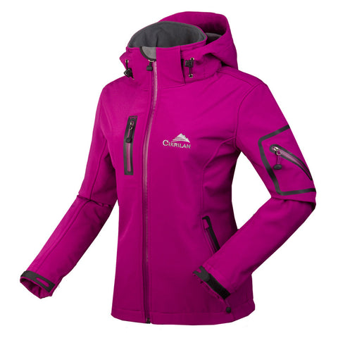 Women's Mountainskin Soft-Shell Fleece Lined Jacket