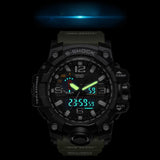 Digital LCD Military Style Wristwatch