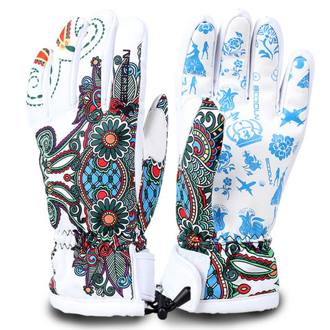 Women's Mountain Sexy Winter Ski Gloves