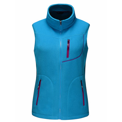 Women's 2017 Mounstainskin Outdoor Fleece Vest