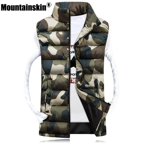 Mountainskin™ Camouflage Puff Vest