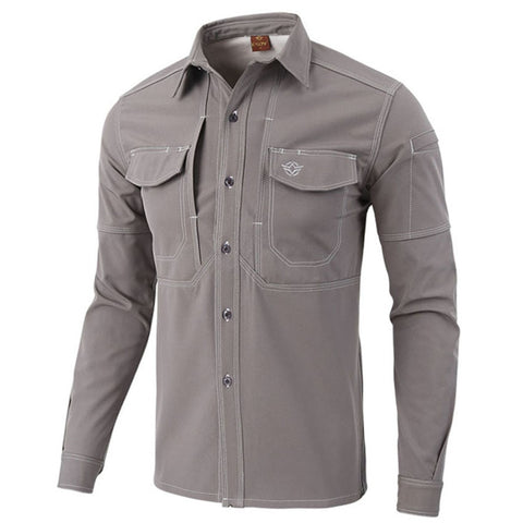 New Men's Winter Softshell Fleece Tactical Shirts Outdoor Sport Coats Trekking Hiking Climbing Hunting Thermal Male Shirts VA179