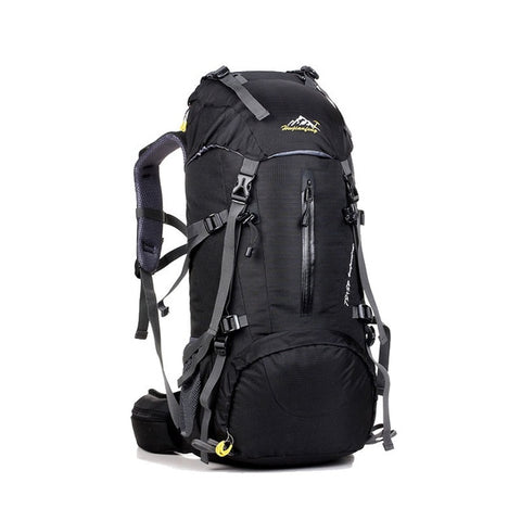Waterproof Travel Hiking Backpack 50L, Sports Bag For Women Men, Outdoor