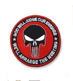 2018 Punisher Military Velcro Badge