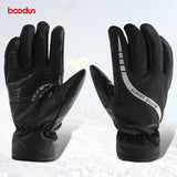 Waterproof Thermal Women Man Winter Ski Gloves Snowboard Snowmobile Motorcycle Cycling Outdoor Sports Gloves for Man or Woven