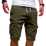 SHUJIN Hot-Selling Mens Shorts Fitness Casual Workout Brand  Pants  Quality Shorts Men's Multi-pocket Sports Shorts