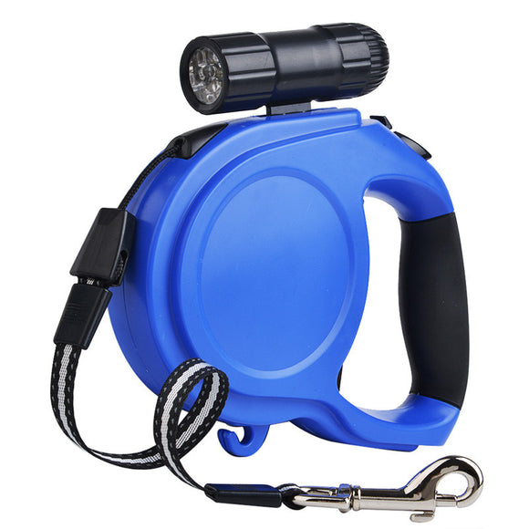 Retractable Leash with LED Light