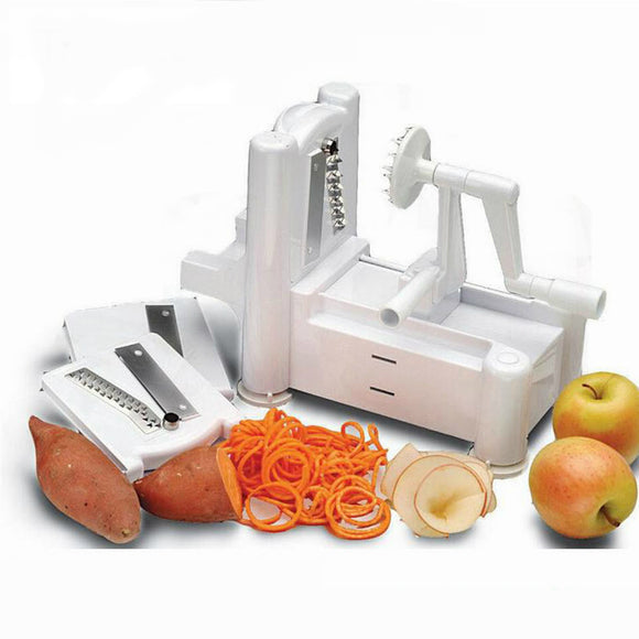 Portable 5-Blade Vegetable Spiralizer