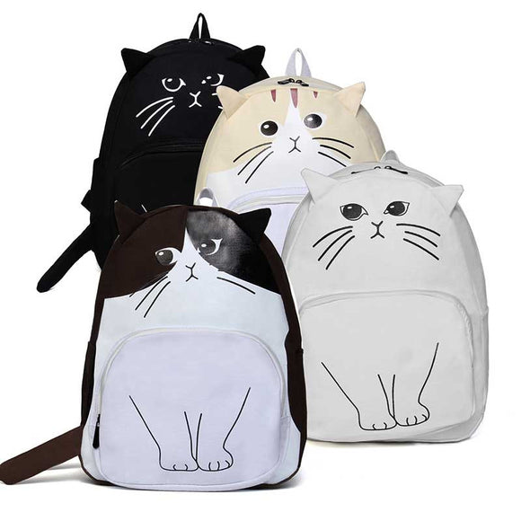 Cutie Cat Book Bag