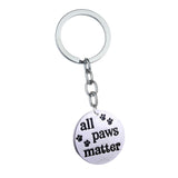 All Paws Matter Pet Lovers Keychain