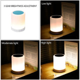 Touch Control Bluetooth Speaker Lamp