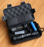 8000 Lumens Tactical LED Flashlight