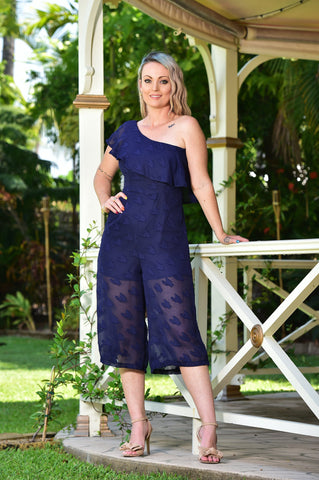 SYLVIA JUMPSUIT IN NAVY