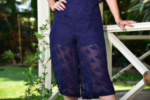 HAGAN JUMPSUIT IN NAVY